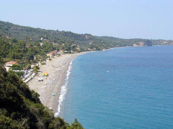 Παραλία Αχλάδι (Φραγκάκη) - Βόρεια Εύβοια